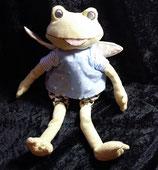 IKEA Fabler  Stofftier Frosch Fee 28 cm