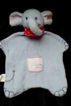 "TCM Schmusetuch Elefant "" ...my little friend "" feines Frottee"