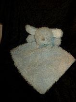 blankets & beyond Schmusetuch Hund / Dog Puppy Hellblau