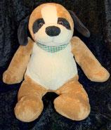 Althans Club Kuscheltier Hund mit  Halstuch