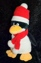 Bambia Pinguin Weihnachtsmütze & Schal