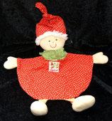 SIGIKID Schmusetuch Puppe / Wichtel Cosimo rot