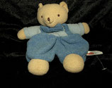 baby FEHN Schmusetuch Teddy weiches Frottee blau