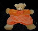 Bieco Schmusetuch Bär / Teddy orange 30 cm