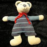 Topolino Schmusetuch  Teddy /  Bär Streifen