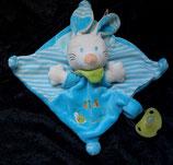 Nicotoy / Baby Club Schmusetuch Hase blau