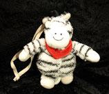 Sterntaler Spieluhr Zimbo das Zebra klein zum anhängen