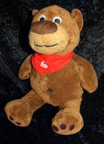 Sparkasse  Teddy / Bär  / Teddybär rotes Halstuch
