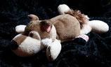 NICI  Hund / Husky / Wolf mit Schal liegend