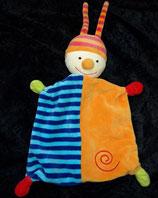 Baby Club / FehnSchmusetuch Clown Puppe Zipfel viereckig