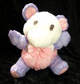 Knautschi / Puffalump  Teddy / Bär rosa / lila
