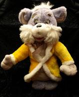 70er 80er Jahre Katze mit  gelbem Mantel  Vintage