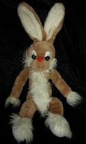 70er 80er Jahre Hase / Bunny Vintage 45 cm