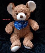 Bob der Bär Maus mit Halstuch sooo weich wie NEU