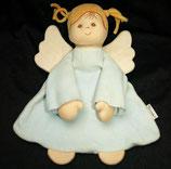 Sterntaler Schmusetuch  Puppe / Engel / Schutzengel hellblau