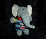 SIGIKID Greifling Rassel Elefant Lolo Lombardo