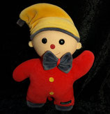Sterntaler Spieluhr Puppe / Clown / Wichtel rot