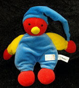 SIMBA  Puppe Harlekin / Narr / Clown  blaue Zipfelmütze / Körper