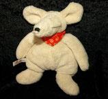 SIGIKID Schaf Maus mit Halstuch Klecks 16 cm
