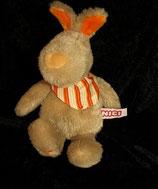 NICI Hase  Chester  Bunny Rabbit Kaninchen Halstuch 20 cm