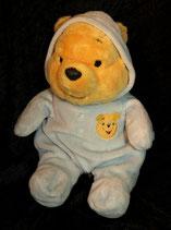 Disney Winnie Pooh im Schlafanzug blau