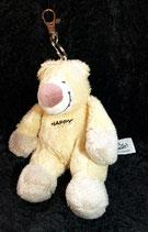 HEUNEC Bär / Teddy be Happy & smile Schlüsselanhänger