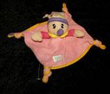 Simba Baby Schmusetuch Harlekin / Narr / Clown Tuch / rosa lila