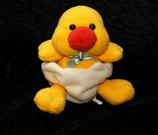 Althans Club Kuscheltier Ente im Ei