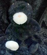 NICI Katze schwarz weiße Pfote 22 cm