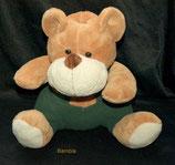 Bambia Handpuppe Teddy mit Latzhose