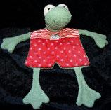 SIGIKID Schmusetuch Klecks Frosch        --> SUPERSELTEN<----