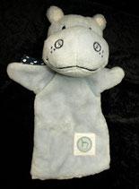 TCM Hippo / Nilpferd  Handpuppe