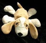 H&M Hund liegend hellbraun / weiß