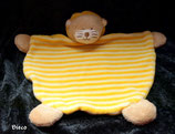Bieco  Schmusetuch Löwe halbrund