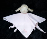 Steiff Träum süß Lamm 237430 rosa Schmusetuch wie NEU