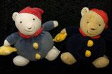 FEHN Baby dicker weicher Teddybär mit Stern