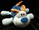 KIK Hund  liegend blaue Nase
