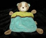 Beauty Baby  Schmusetuch  Bär / Teddy türkis / grün