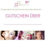 Gutschein 100 EUR für Permanent Make-up oder Styling