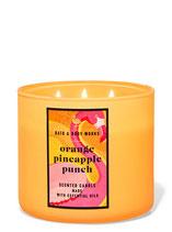 3-Dochkerze Orange Pineapple Punch
