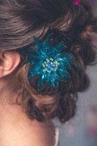 Seerose, blau