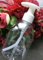 Seifenspender PE klar 250 ml leer eigene Befüllung Pumpspender
