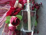 Kristall Glasflakon 100 ml für Badeöl, Massageöl oder Raumduft - Verdunster