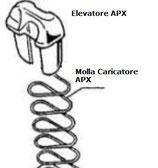 Pezzi di ricambio: Molla Caricatore ed Elevatore per Beretta APX 9x21 C5F318 C5F299