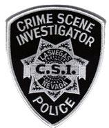 Patch Police C.S.I Las vegas