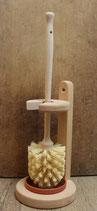 WC-Ständer klein, mit Bürste, Fibre
