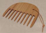 Lockenkamm, Holz, extrem-grob, 12 cm