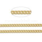 Messingkette gedreht - golden
