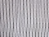 Popeline Ministerne -weiß/ grau -. Baumwolle -V176