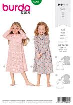 Burda - 9291  Kleid
